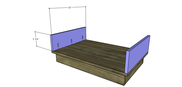 DIY Plans to Build the Ava Chest of Drawers_Drawer Box Sides