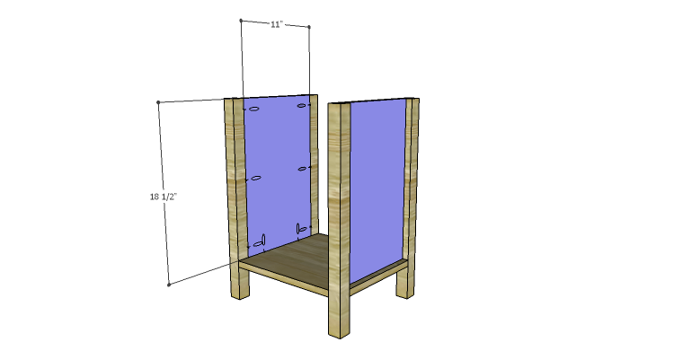 DIY Plans to Build a Valerie Nightstand_Sides