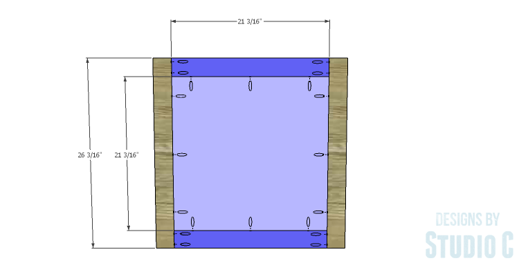 DIY Plans to Build a Mosaic Cabinet_Doors 1