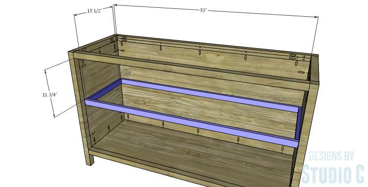 DIY Plans to Build a Mosaic Cabinet_Shelf Frame