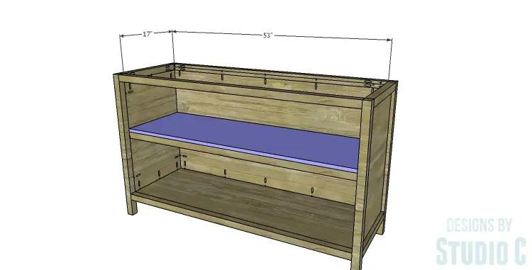 DIY Plans to Build a Mosaic Cabinet_Shelf