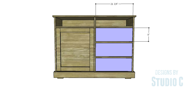 DIY Plans to Build a Brenley Media Console_Drawer Fronts