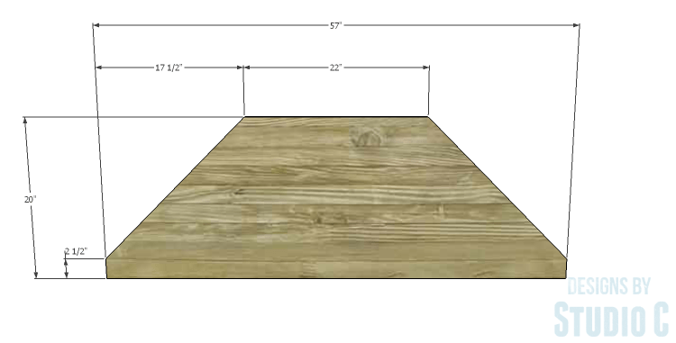 DIY Plans to Build a Rushton Media Stand_Bottom 1