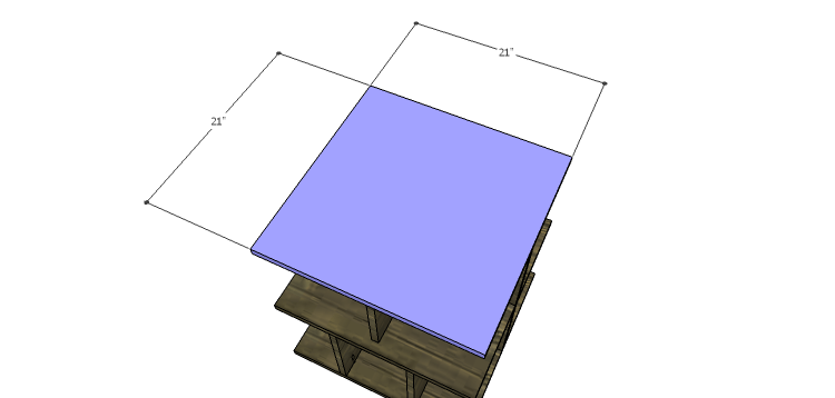 DIY Plans to Build a Warner Storage Shelf_Top
