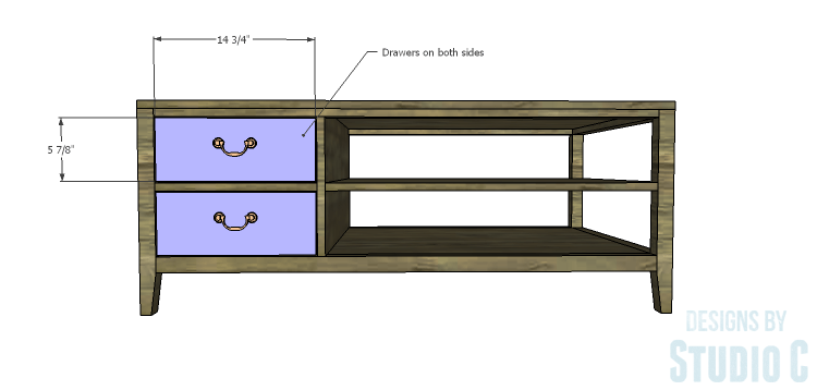 DIY Plans to Build a Drew Cocktail Table_Drawer Fronts