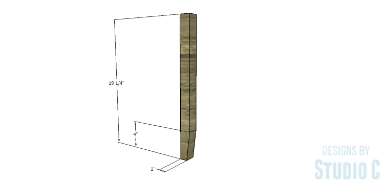 DIY Plans to Build a Drew Cocktail Table_Legs