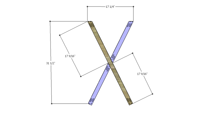 DIY Plans to Build a Davidson Console Table_X 2