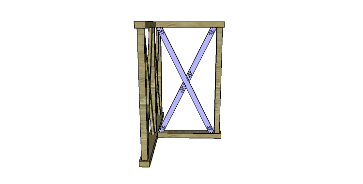DIY Plans to Build a Davidson Console Table_X 4