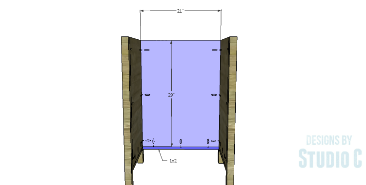 DIY Plans to Build a Matteo Drawer Cabinet_Back