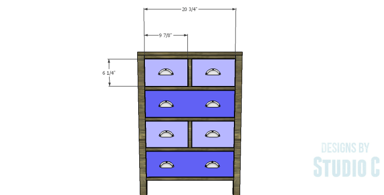 DIY Plans to Build a Matteo Drawer Cabinet_Drawer Fronts