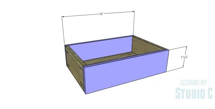 DIY Plans to Build a Matteo Drawer Cabinet_Large Drawer FB