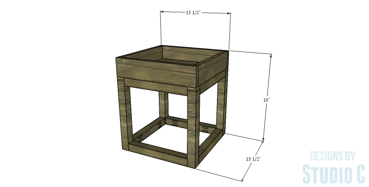 DIY Plans to Build a Tray Side Table