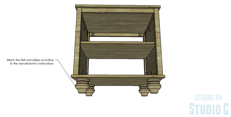 DIY Plans to Build a Lila End Table_Feet