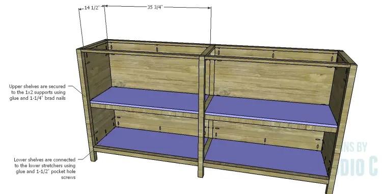DIY Plans to Build a Frances Buffet_Shelves