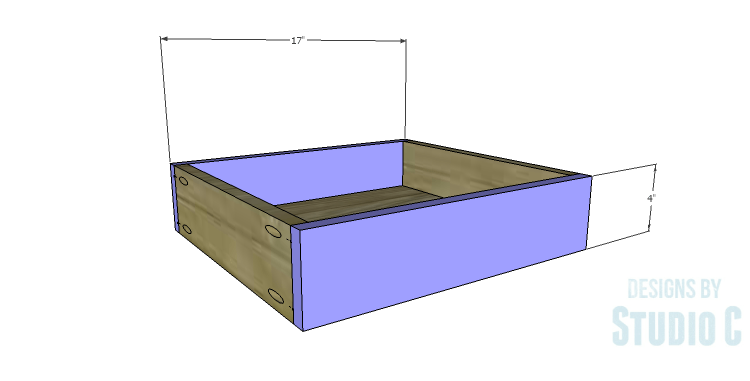 DIY Plans to Build a Doyle Cabinet_Center Drawer FB