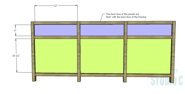 DIY Plans to Build a Carney Media Stand_Back Panels