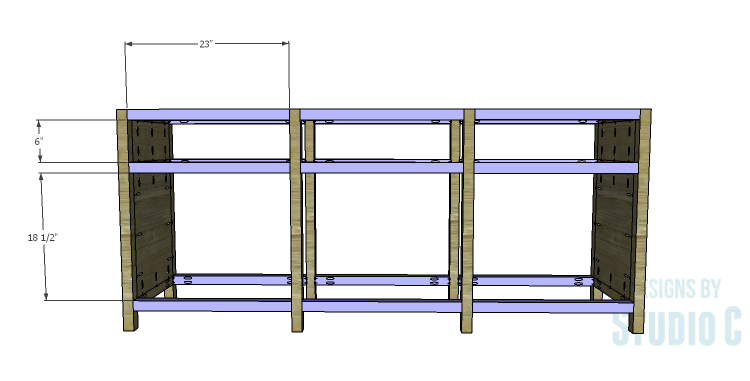 DIY Plans to Build a Carney Media Stand_Framing