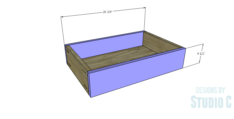 DIY Plans to Build a Holly Console Table_Drawer FB