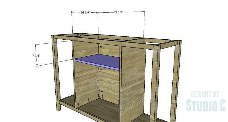 DIY Plans to Build an Arden Buffet_Drawer Shelf