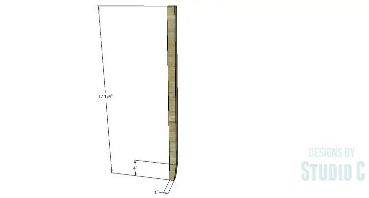 DIY Plans to Build an Arden Buffet_Legs
