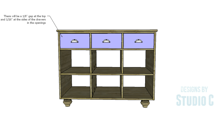 DIY Plans to Build an Eckhart Kitchen Island_Drawers
