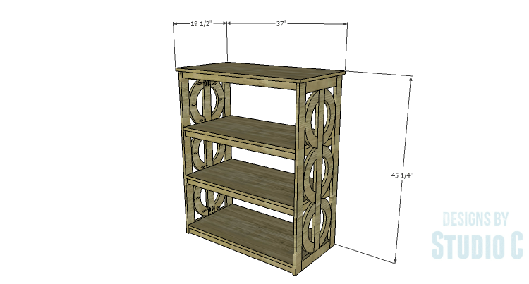 DIY Plans to Build a Circle Bookcase