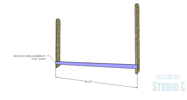 DIY Plans to Build a Folding Bench_Back Legs 2