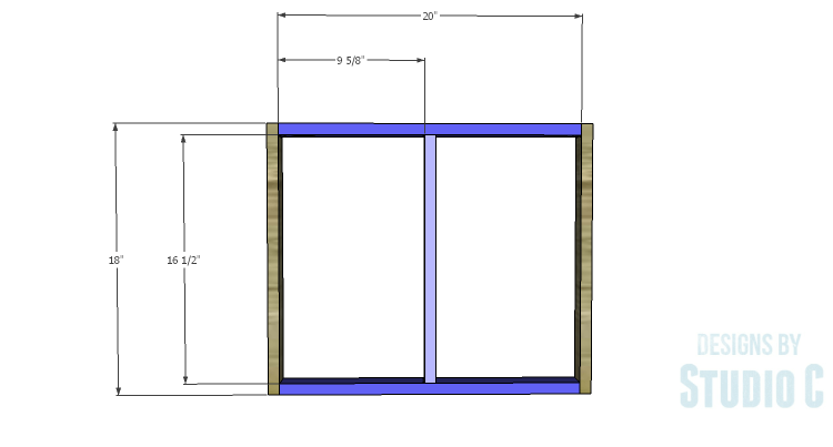 DIY Plans to Build a Quinn Outdoor Chair_Back Frame 1