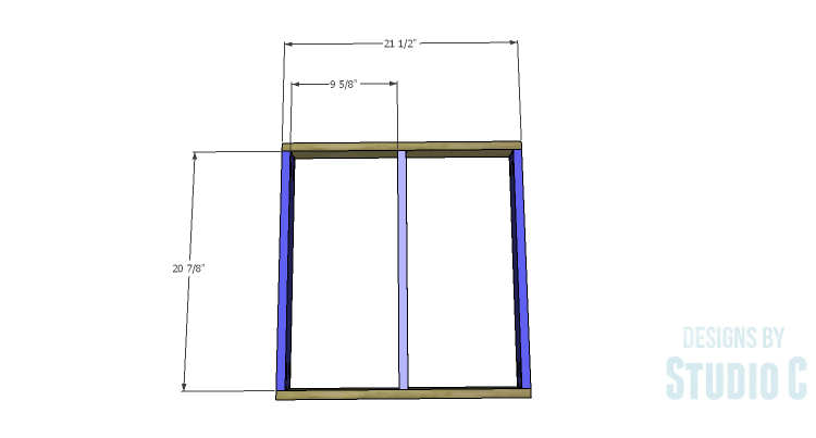 DIY Plans to Build a Quinn Outdoor Chair_Seat Frame 1