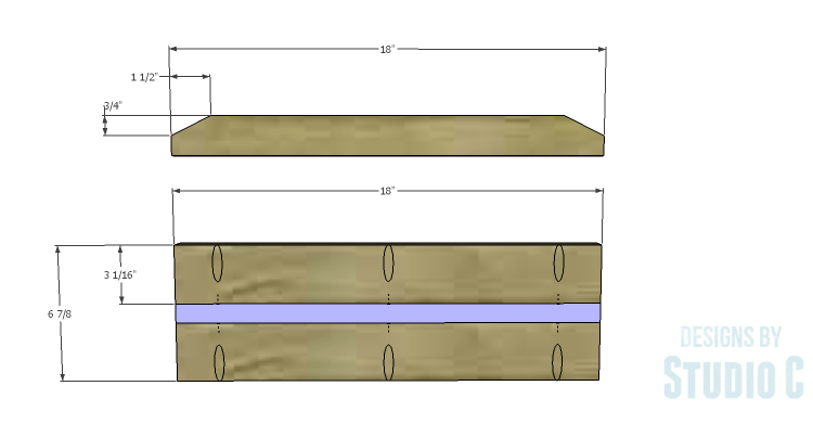 DIY Plans to Build a Mayweather Nightstand_Drawer Fronts 1