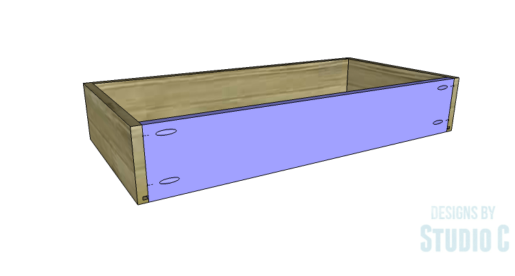 DIY Plans to Build a Brecken Dresser-Drawer 4