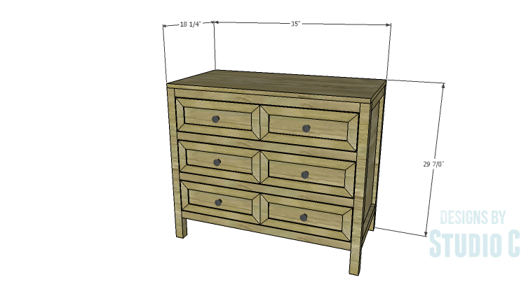 DIY Plans to Build a Brecken Dresser