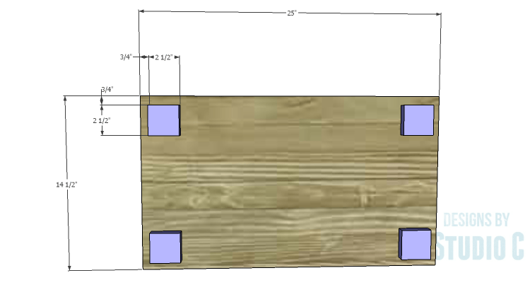 DIY Plans to Build a Coat Cabinet-Bottom