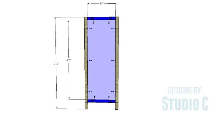 DIY Plans to Build a Braylon Chest-Sides