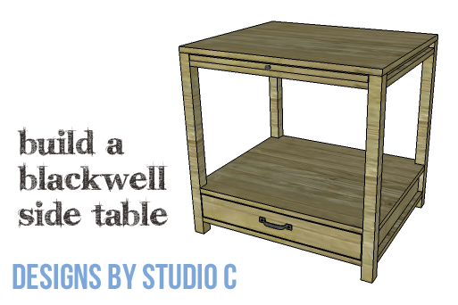 DIY Furniture Plans to Build a Blackwell Side Table-Copy
