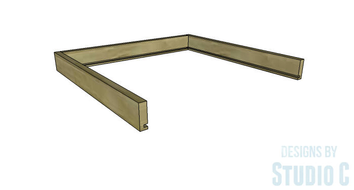 DIY Furniture Plans to Build a Blackwell Side Table-Drawer 2