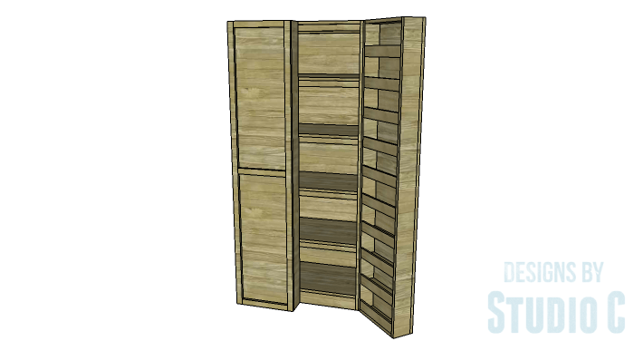 diy furniture plans to build a rustic pantry cabinet copy 2
