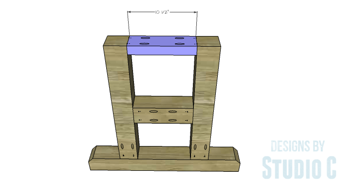 DIY Furniture Plans to Build a PB Inspired Stafford Dining Table - Side Legs 3