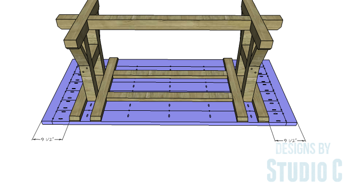 DIY Furniture Plans to Build a PB Inspired Stafford Dining Table - Top 2