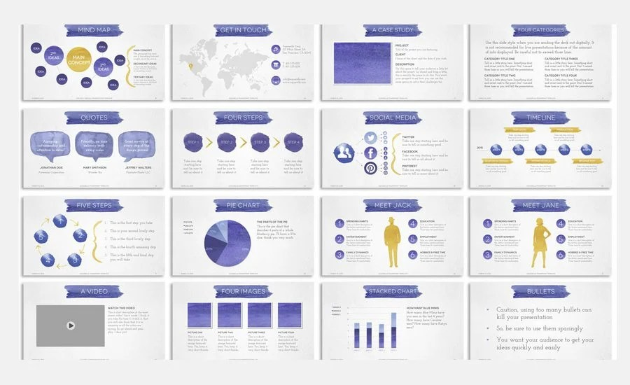 60 beautiful premium powerpoint presentation templates add a touch of hand made elegance to your deck with the aquarelle powerpoint presentation template this pack contains 4 gorgeous versions featuring hand toneelgroepblik Choice Image