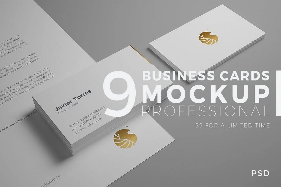 70+ Corporate & Creative Business Card Mockups | Healthcare Web ...