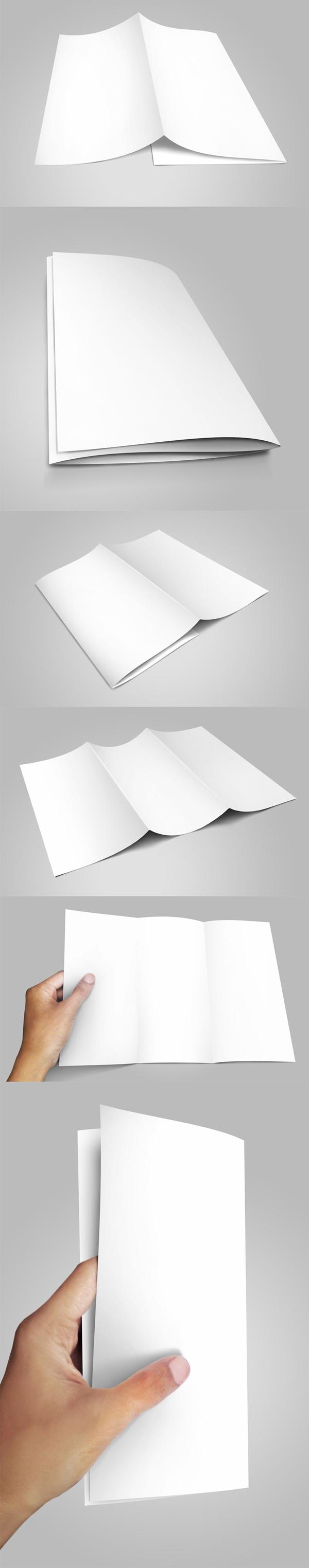 17_Trifold Brochure Mockup
