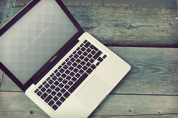 02 Macbook photorealistic mockups