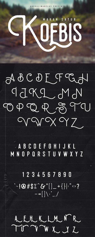 03 Koebis Free Font