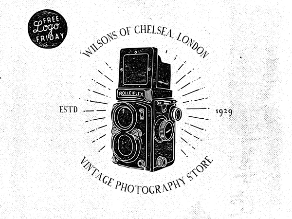 05 Free Logo Friday- Rolleiflex