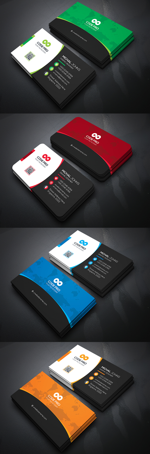 12 Business Card Design