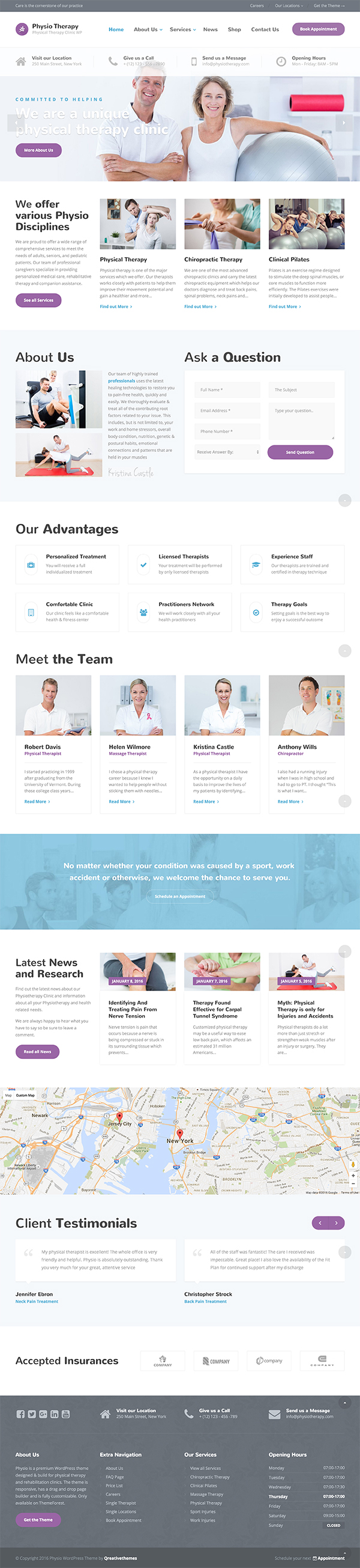 13 Physio - Physical Therapy & Medical Clinic WP Theme