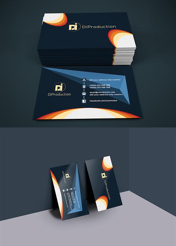 01 Free Di3 Business card