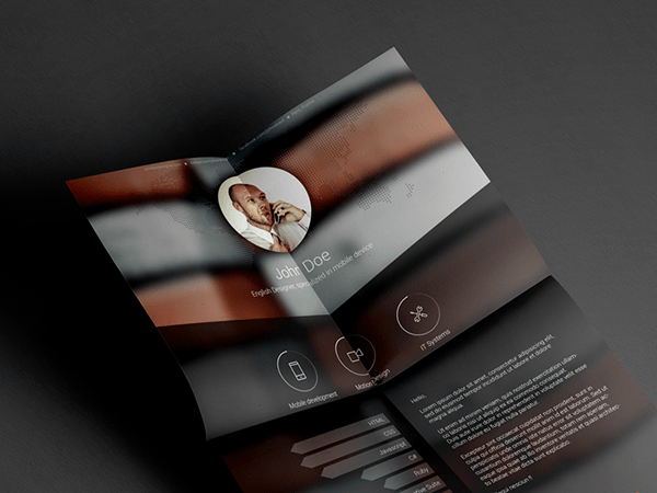 01 Free Resume template