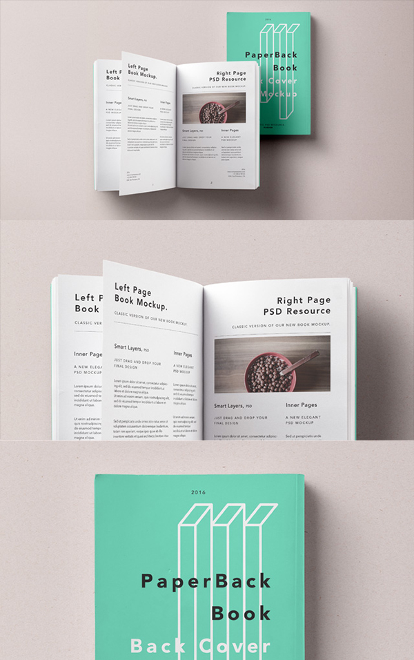 Old Book Cover Mockup : New highest quality photoshop free psd book mockups